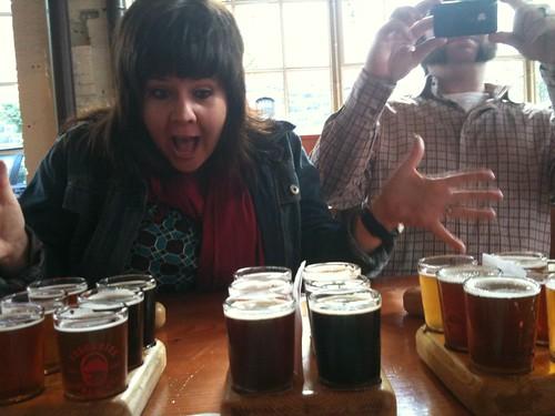 OMG!  That's 3 Flights of Good Brewpub Beer We Gotta Drink! | by Wayan Vota