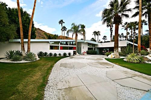 modern hotel desert palmsprings modernism palmer palm midcentury palmas krisel
