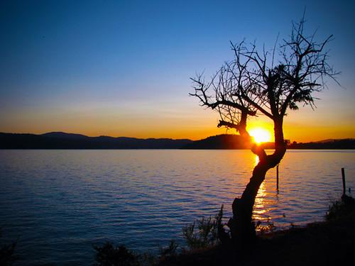 sunset idaho coeurdalene lakecoeurdalene jakedonahue