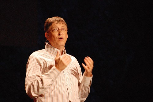 TED2009- Bill Gates | by redmaxwell