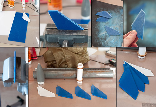 VitaOrb - model rocket project, fins | by akeeh