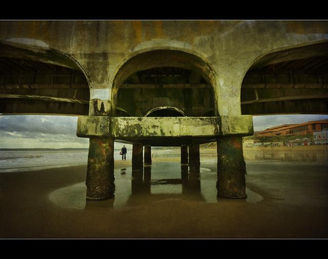 Man under the Pier
