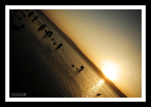 ocean blue sky sun water sunrise colorful humboltcounty humboltbay samoacalifornia