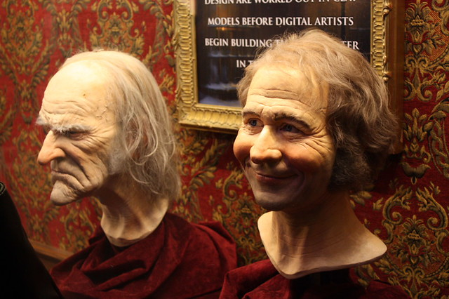 Jim Carrey Christmas Carol.Models Of A Christmas Carol Of Jim Carrey And Gary Oldman