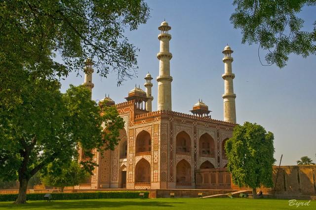 Main Gate exterior, Akbar's Tomb complex, Sikandra near Agra