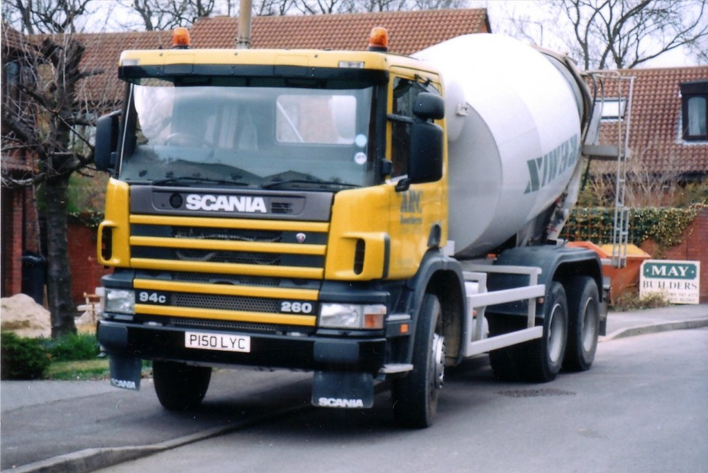 Scania Concrete Mixer ARC Premix | Must have been nearly one