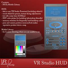 VR Studio hud | by SasyScarborough