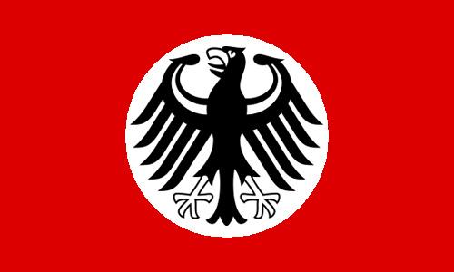 Staatsflagge des Bundesregime Deutschland