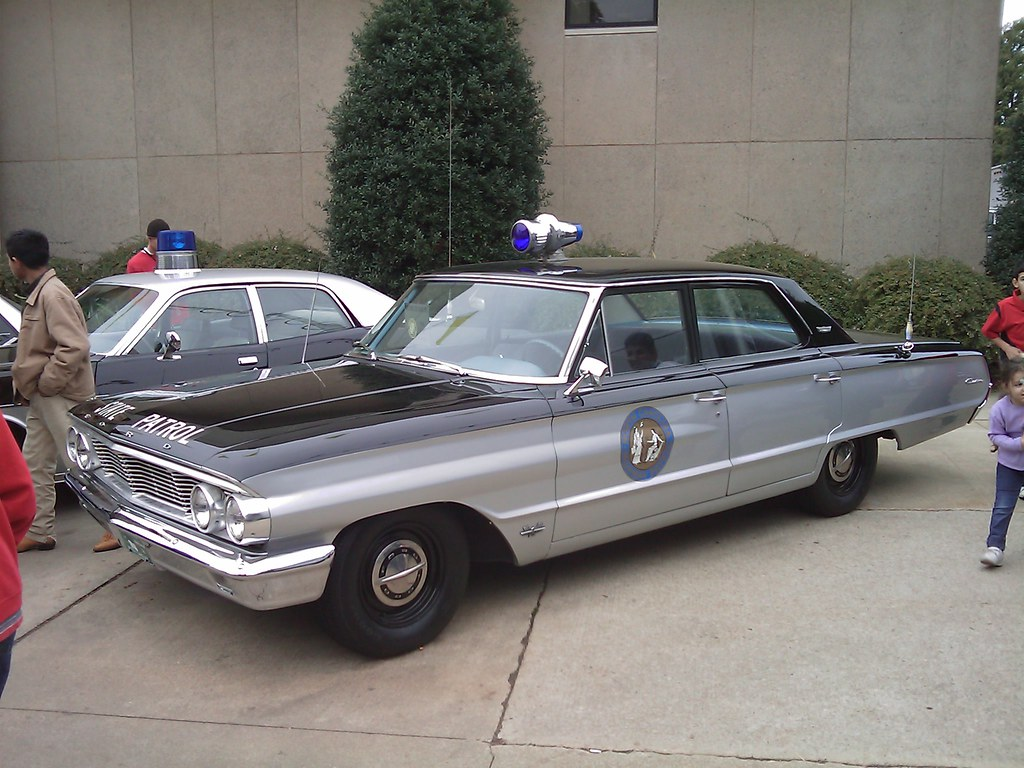 The Andy Griffith Show squad car 1964 North Carolina License plate