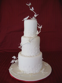 Butterfly wedding cake | by The Bees Nees