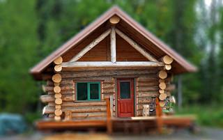 Log Cabin in Miniature