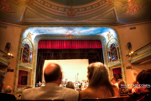At the Portsmouth Symphony Orchestra by Philip Case Cohen
