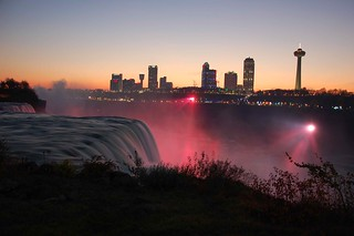 American Falls at dusk   by agperson