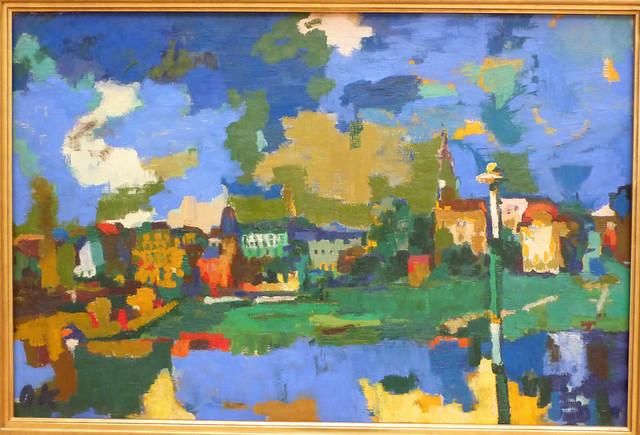 Oskar Kokoschka: Dresden Neustadt IV (1922)