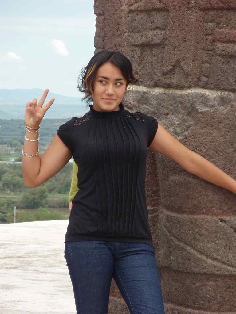 Muchacha Bonita Pretty Girl Tula Mexico Muchacha Bonit