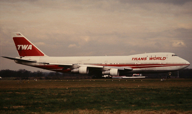 TWA Trans World Airlines Boeing 747-100