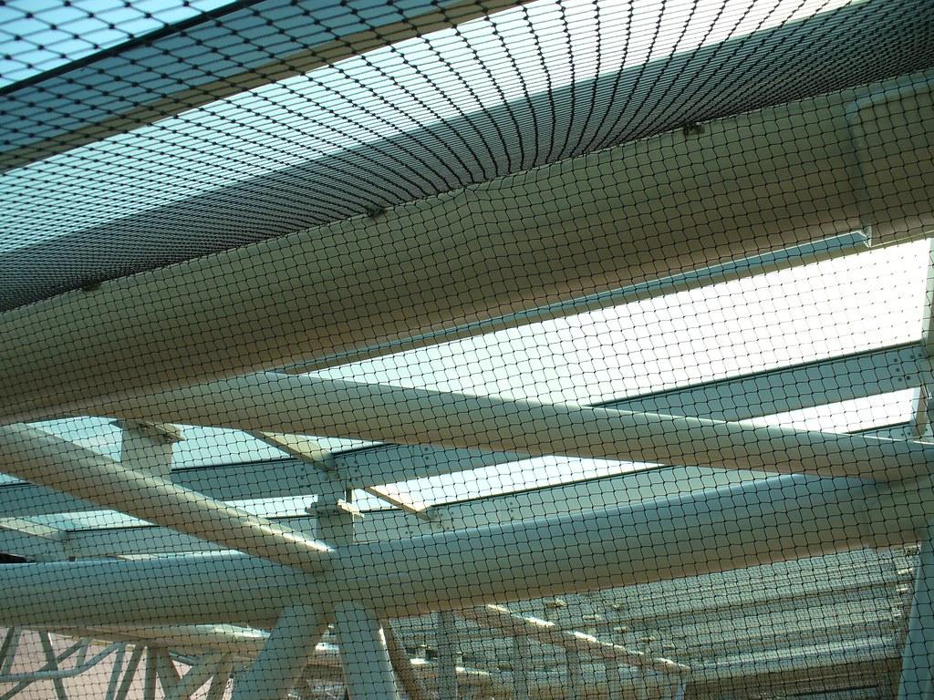 Bird Netting Installed under a Canopy | Heavy Duty Bird net