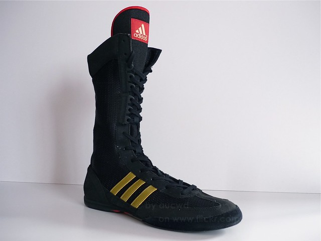 a758d3f29f659 ... 2008 VINTAGE ADIDAS BOX CHAMP SPEED II BOXING BOOTS