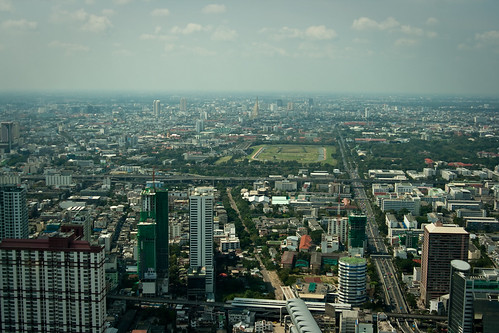Photo from the observation platform of the Baiyoke II tower | by Qsimple, Memories For The Future Photography