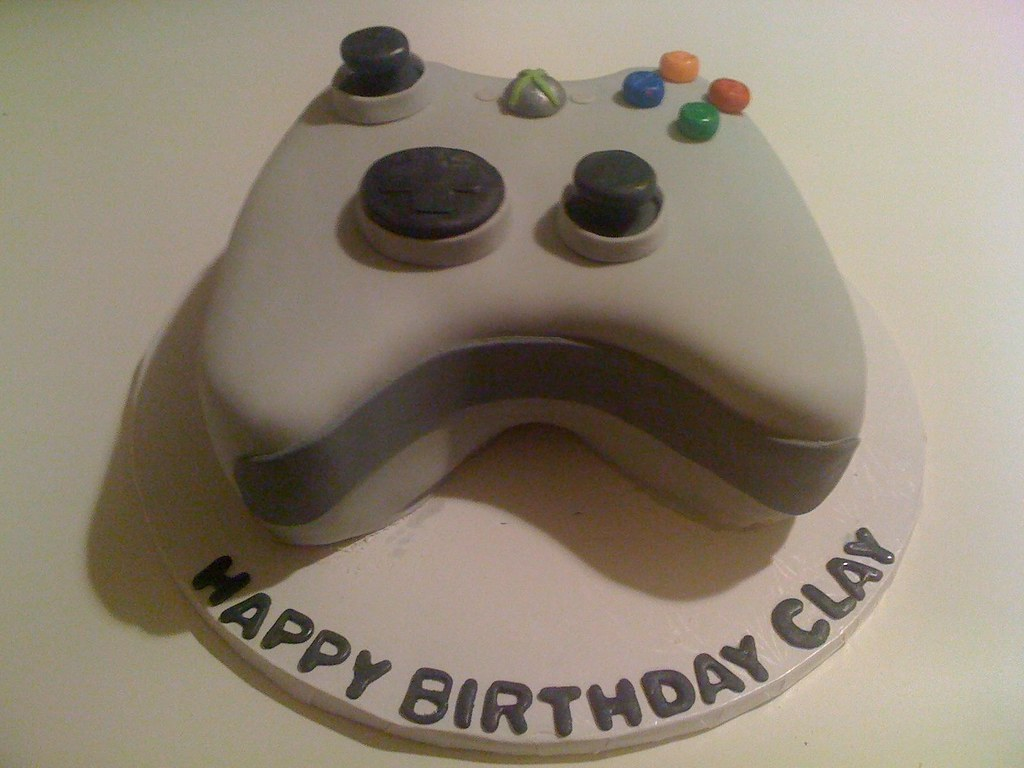 Outstanding Xbox Controller Cake Birthday Cake For 15 Year Old Boy Gracie Funny Birthday Cards Online Fluifree Goldxyz