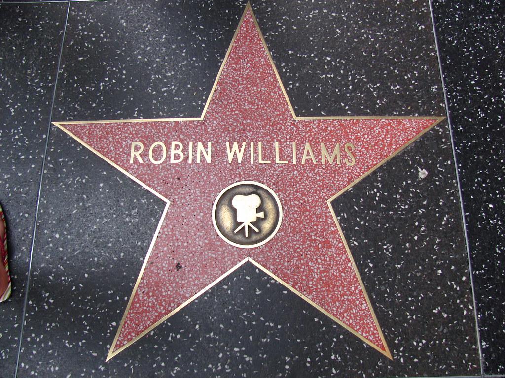 Robin Williams' Star on Hollywood Boulevard