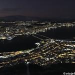 Viajefilos en Tromso, Monte Floya 015