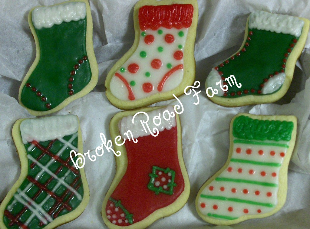 Christmas Stocking Cookies Christmas Stocking Sugar Cookie Flickr