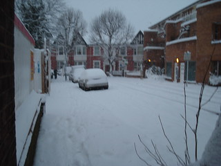 Northcote Avenue, Ealing- London Snow Day (2nd Feb 2009)