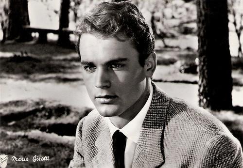 Mario Girotti (Terence Hill) in Lazzarella (1957)