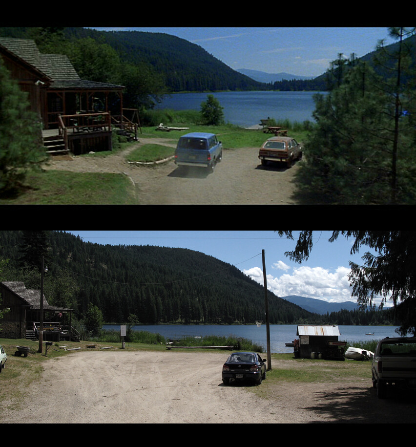 Dante S Peak Filming Locations Mirror Lake Talache Id