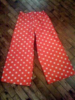 wide legged lounge pants