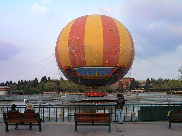 Baloon near the Walt Disney Studios Park 1