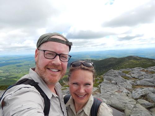 Monadnock State Park - summit hike - 7