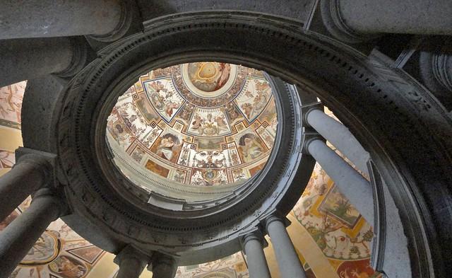 Scala Regia di Palazzo Farnese a Caprarola (VT - italy)