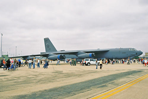 usa 2004 airplane texas unitedstates aircraft military airshow airforce bomber fortworth warplane b52 stratofortress