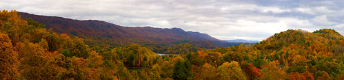 city autumn panorama white lake mountains fall leaves photo highway tennessee johnson scenic 321 foliage doodle hampton overlook boone merge watauga thechallengefactory