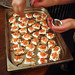 Blaggers' Banquet - Making Canapes