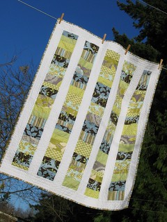 Stacked Coins Baby Quilt #2