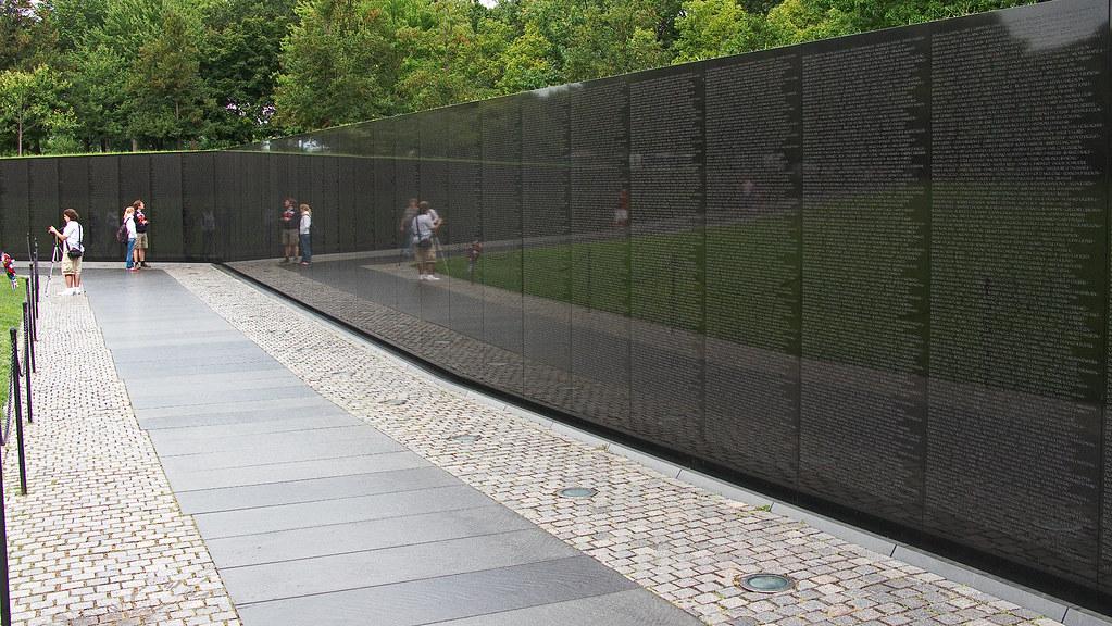 7279 Vietnam Memorial, Washington, DC by John Prichard