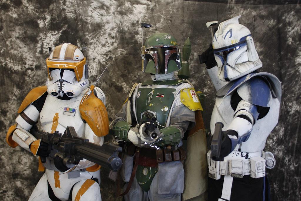 Star Wars Commander Cody, Boba Fett and Rex 2010 208 | Flickr