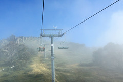 Chairlift to Mt Kosciuszko