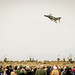A McDonnell Douglas QF-4 Phantom II of the 82nd Aerial Target Squadron Detachment 1 steaks over the crowd gathered to witness the final military flight of the storied aircraft at Holloman AFB, N.M., Dec. 21, 2016. The F-4 Phantom II entered the U.S. Air Force inventory in 1963 and was the primary multi-role aircraft in the USAF throughout the 1960s and 1970s. The F-4 flew bombing, combat air patrol, fighter escort, reconnaissance and the famous Wild Weasel anti-aircraft missile suppression missions. The final variant of the Phantom II was the QF-4 unmanned aerial targets flown by the 82nd at Holloman AFB. (U.S. Air Force photo by J.M. Eddins Jr.)