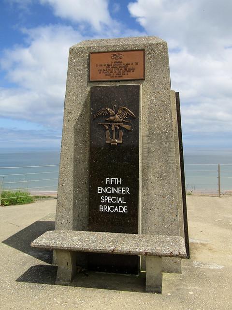 Fifth Engineer Special Brigade Memorial, Omaha Beach 2016