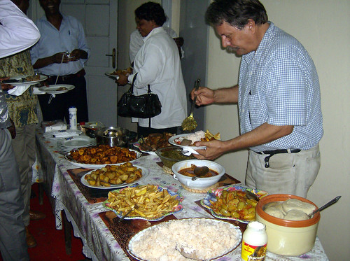 A Congolese Thanksgiving Feast   by Woody Collins