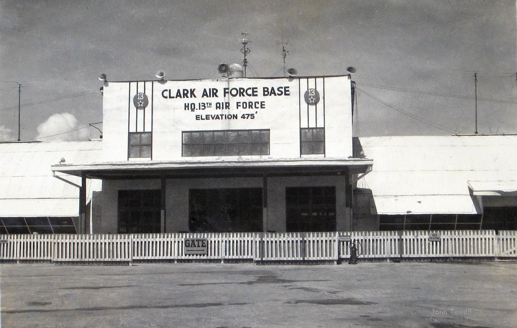 Clark Air Force Base, Luzon, Philippines, 1948   John Tewell   Flickr