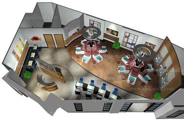 Pedicure Spa Layout Salon Design Salon Design Ideas Sal
