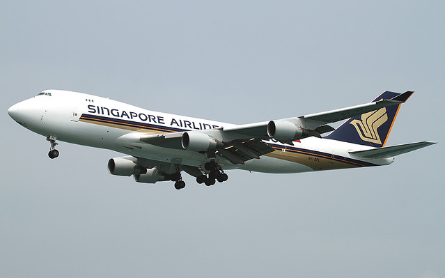 B747-412/F | Singapore Airlines Cargo | 9V-SFL | HKG