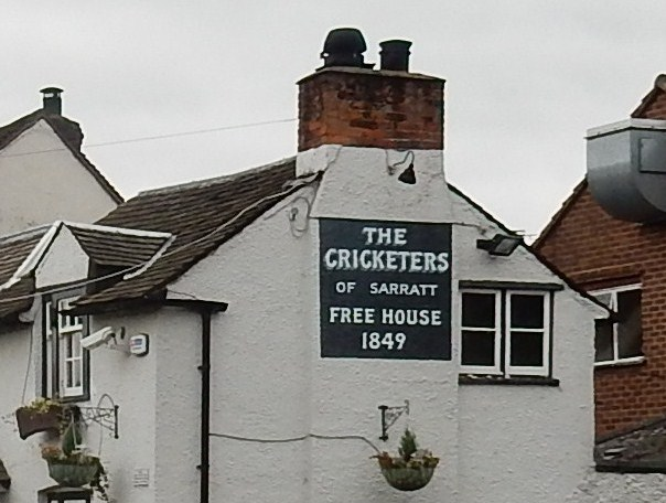 The Cricketers off piste in Sarratt Chorleywood to Chesham