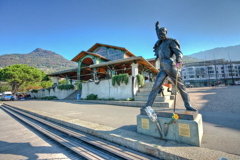 Freddie in Montreux