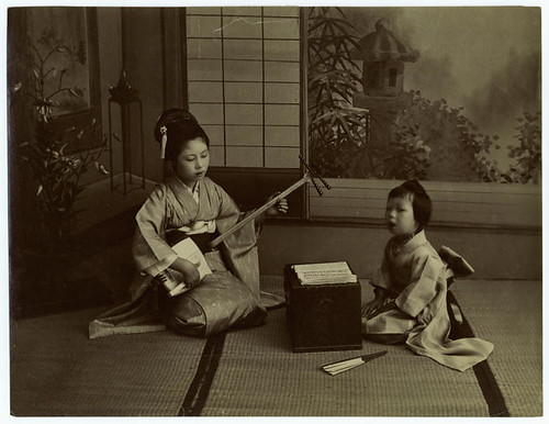 Home life in Japan. | by New York Public Library